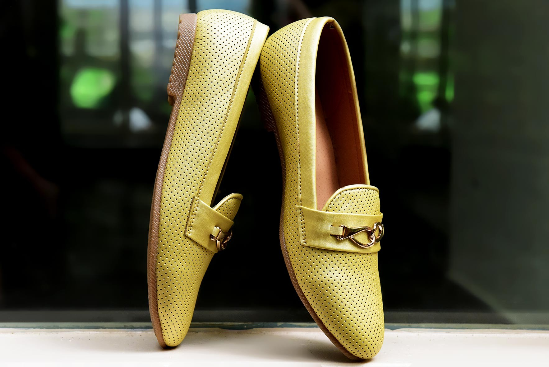 Go with me shoes mustard