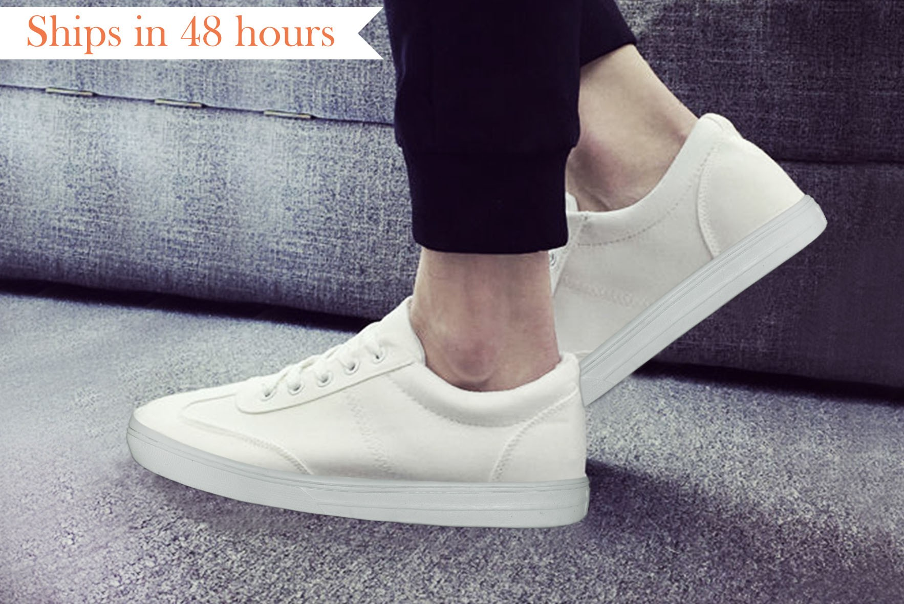 Low Top Sneakers White