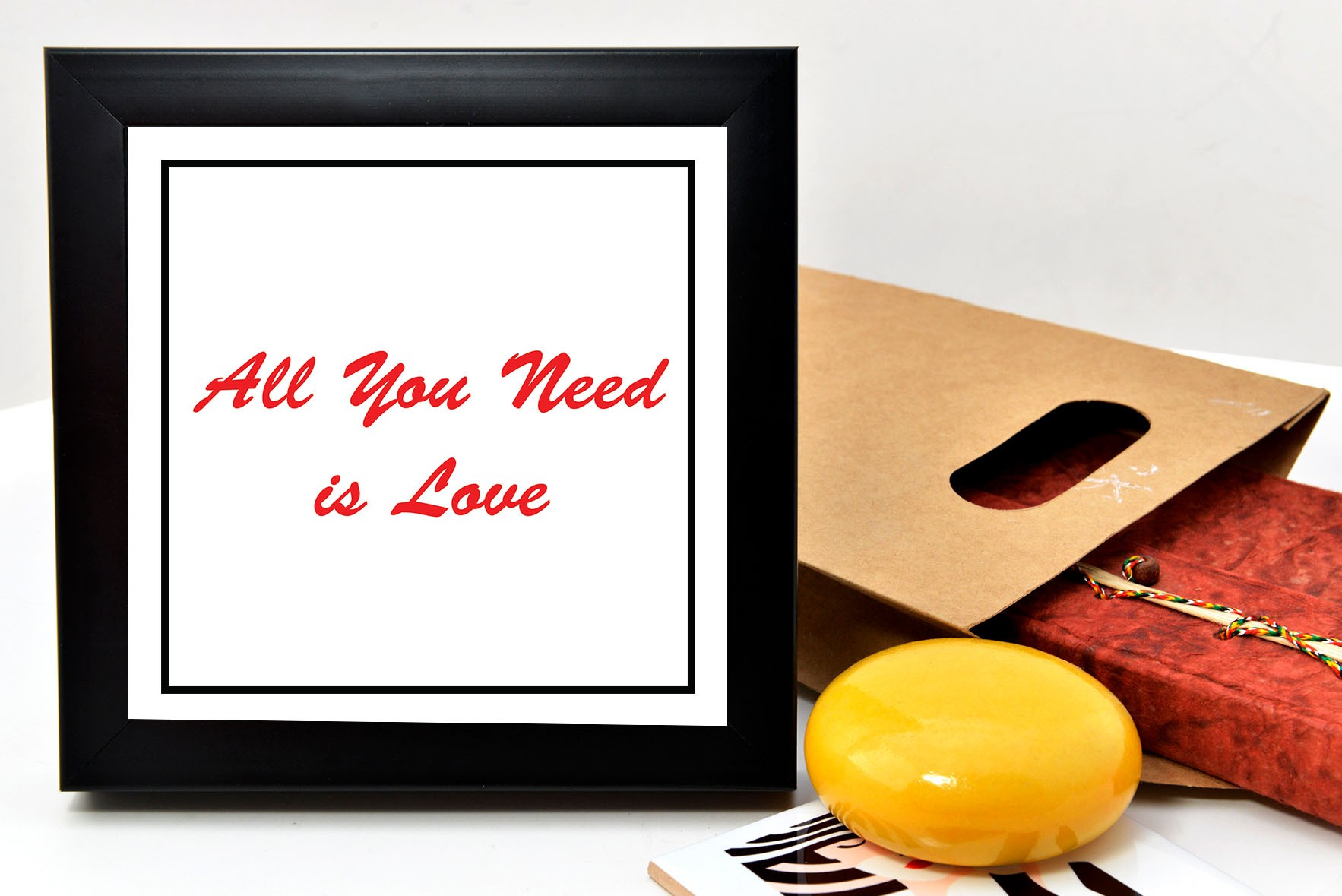 All you need is love frame