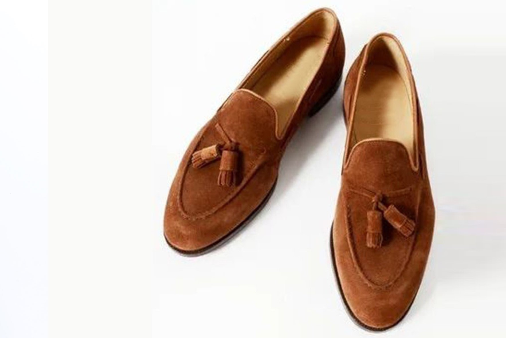 Tassel up loafers