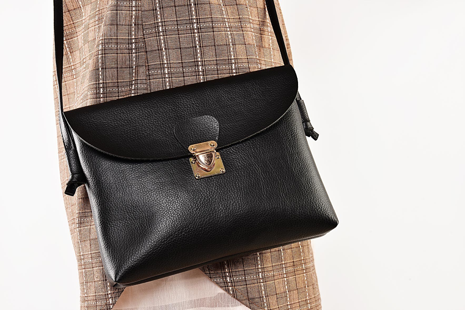 Stow and Tell Bag Black