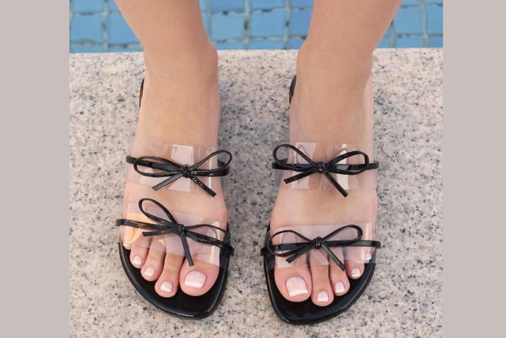 Be a blessing flats black