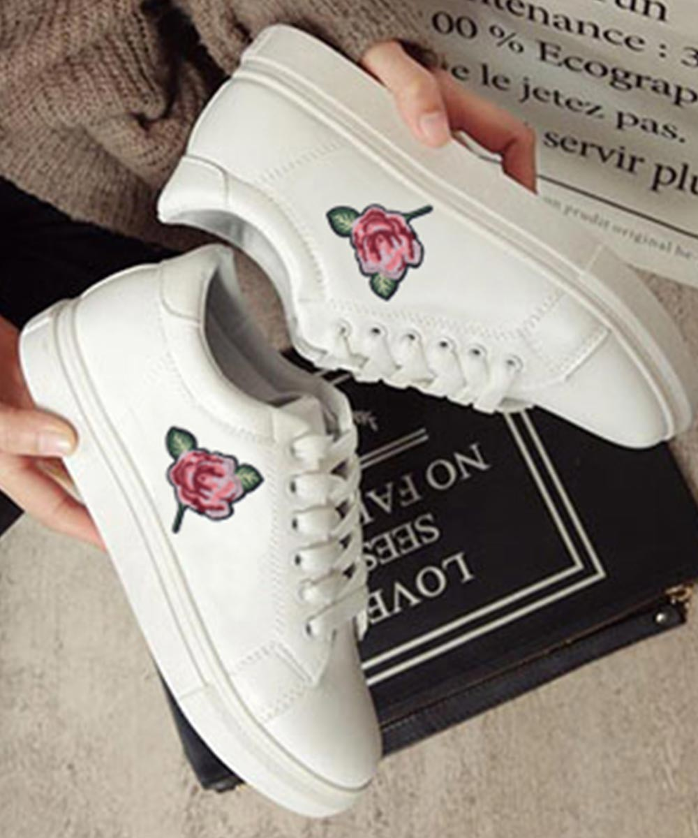 Rose yourself sneakers
