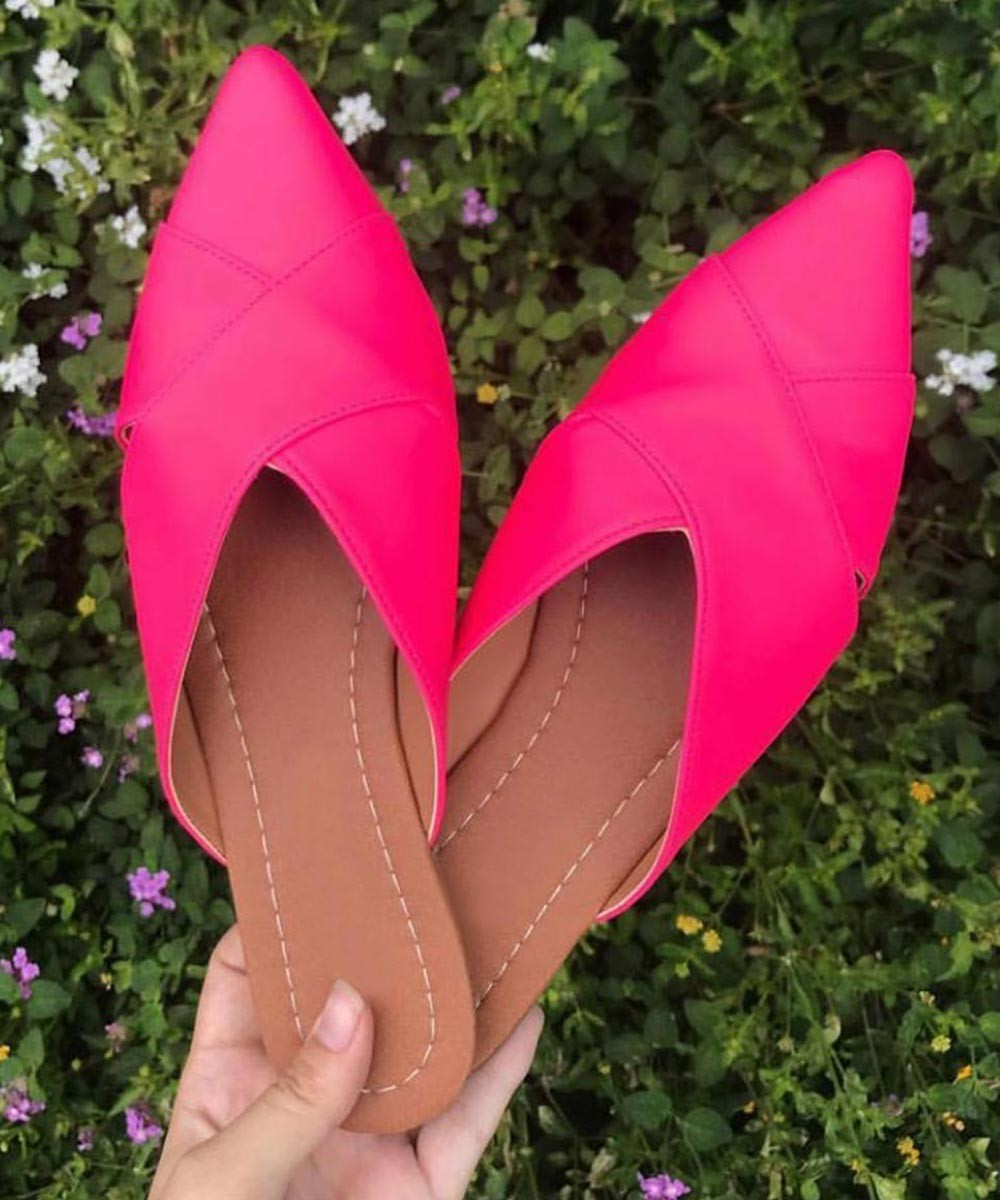 Pink is my color flats