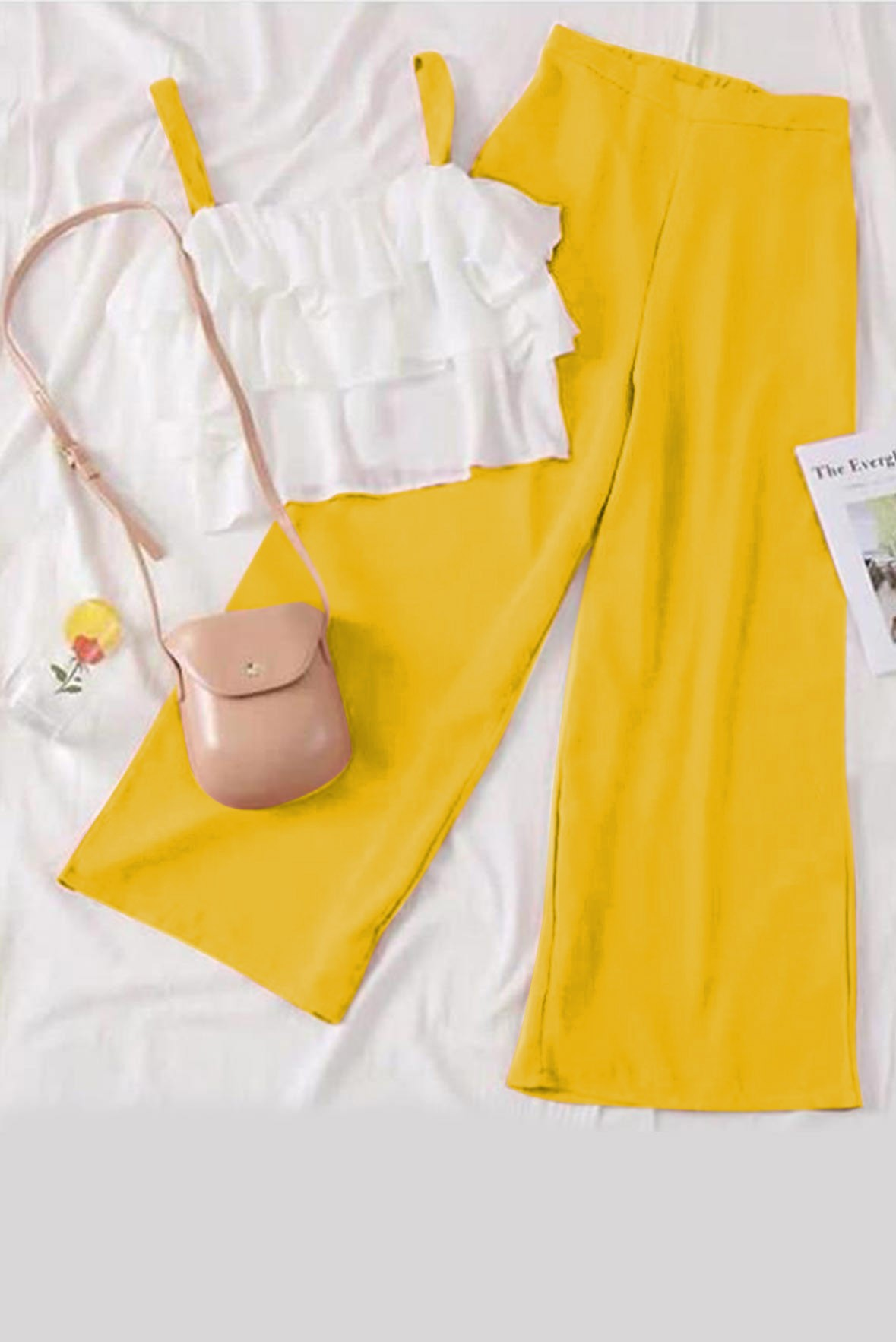 Set of 2 - Style up your outfit yellow