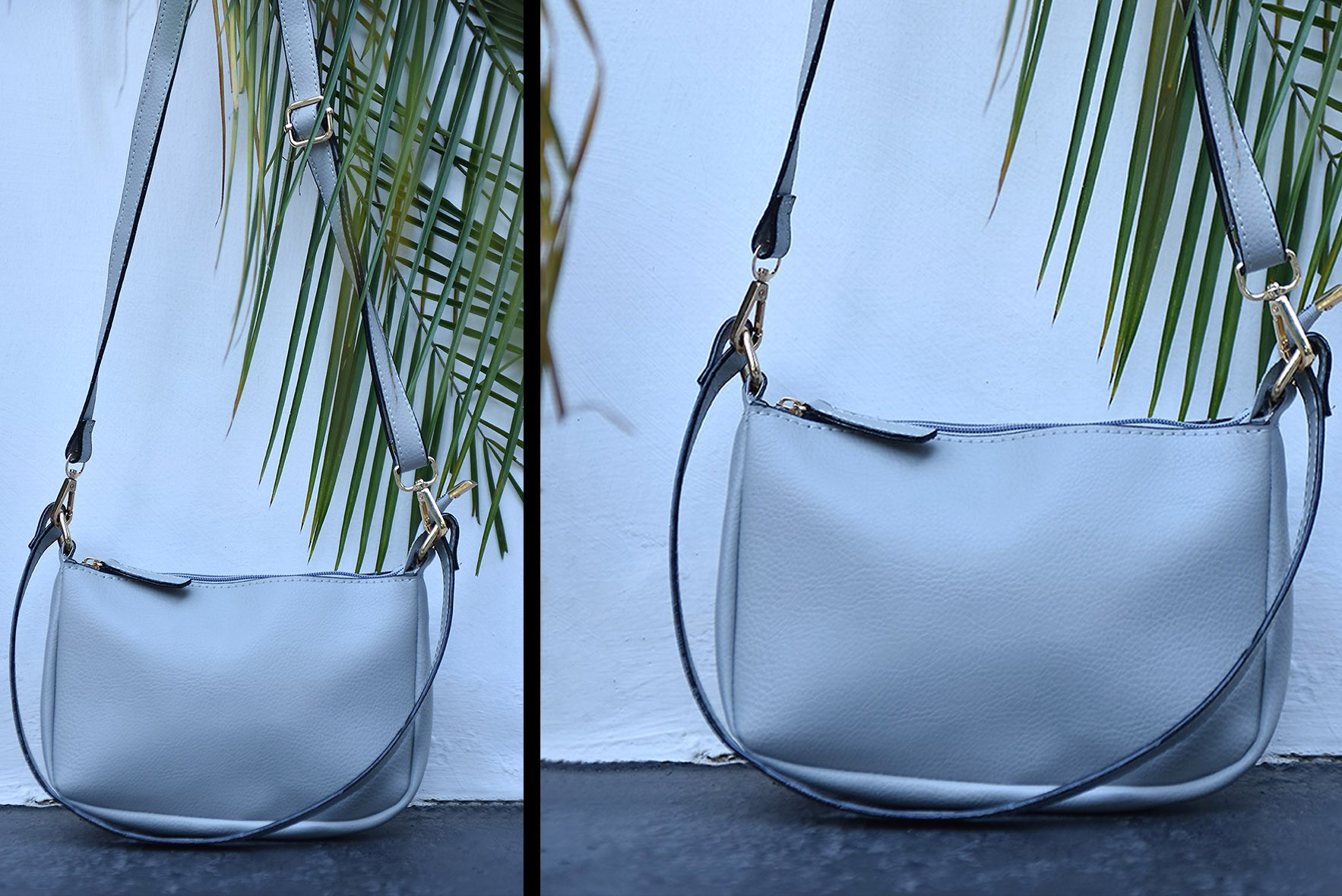 Easy to carry sling bag Grey