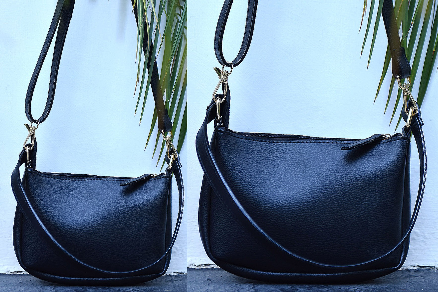 Easy to carry sling bag Black