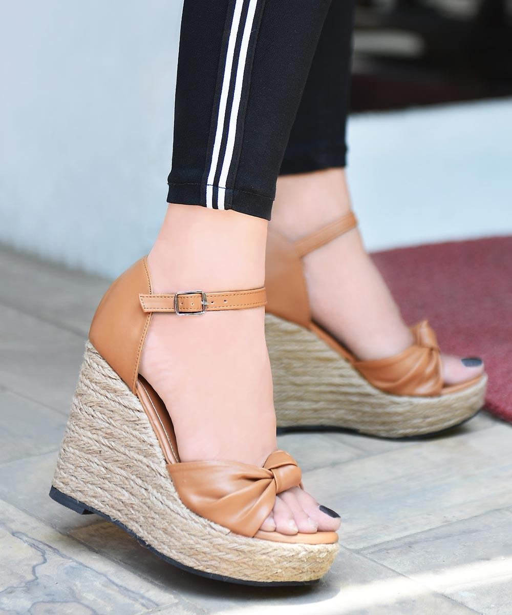 Goodbye gorgeous brown wedges