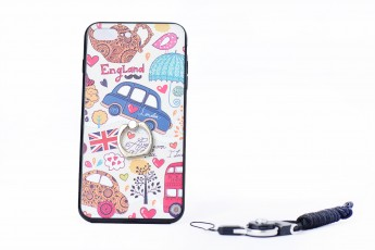 Iphone 7 Plus England phone case and Phone string