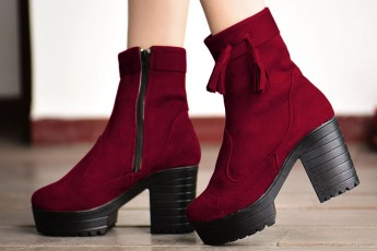 We Are So Good Boots Marsala