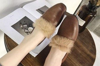 Slow and Behold flats brown