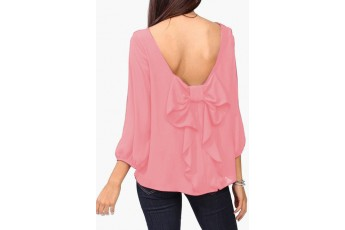 Made for mixing pink top
