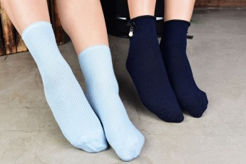 Set of 2- Light Blue and navy blue