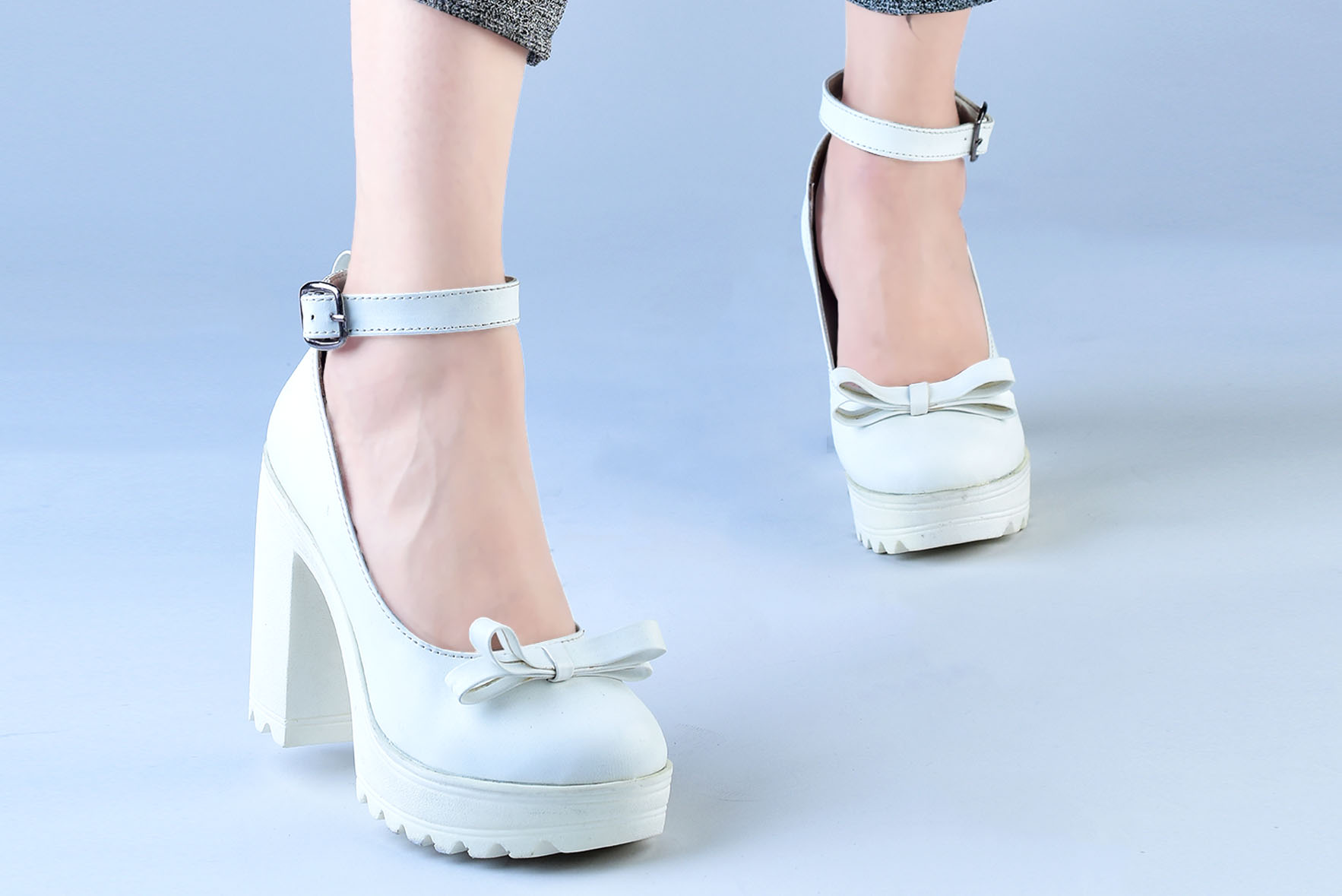 a1df72c47cb4 Your Closet Heels White - Street Style Store