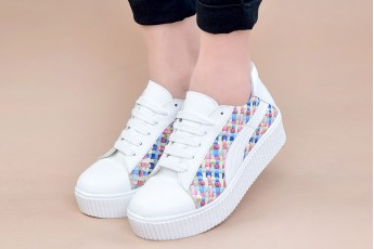 Paved with rainbows sneakers